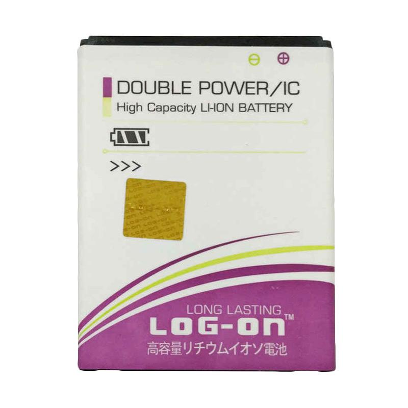 Log On Double Power BL-4U Baterai for Nokia 3120c [2000 mAh]