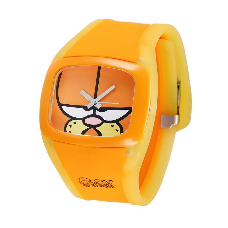ODM Karakter Garfield DD100A-54 Jam Tangan Wanita - Kuning