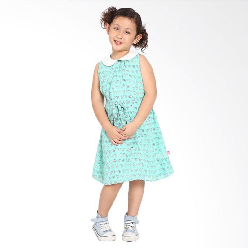 Pretty Girl 2ARISTI Dress Anak - Mint