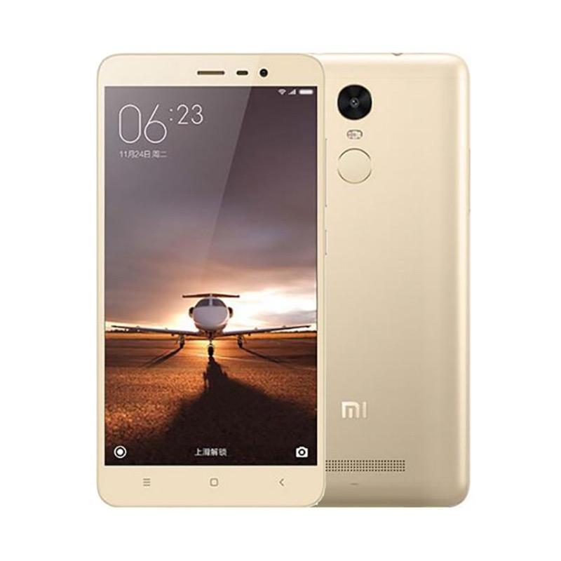 Harga Xiaomi Redmi Note 3 Pro Smartphone – Gold [16GB/2GB]