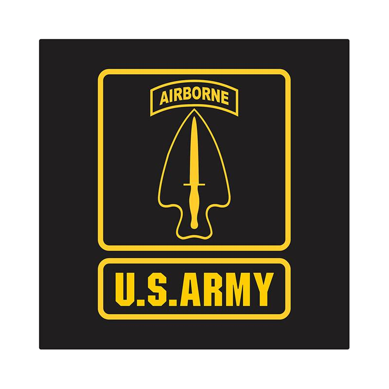 US Army Delta Force Airborne Cutting Sticker