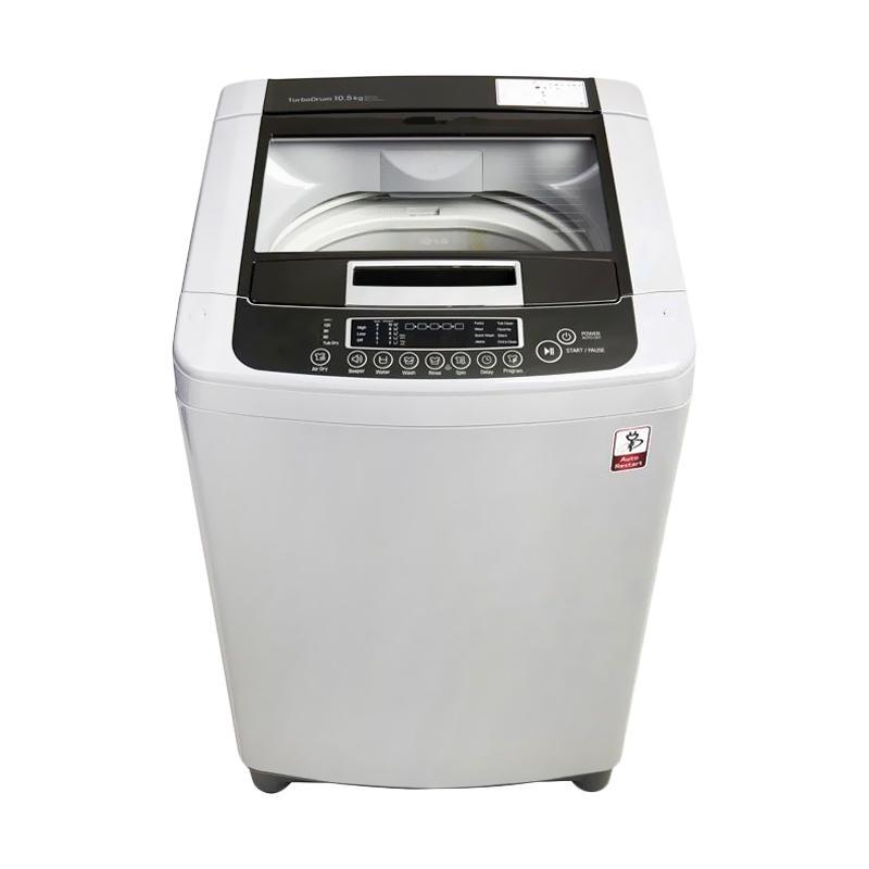 LG TS75VM Top Loading Washer Mesin Cuci - Putih [7.5 kg]