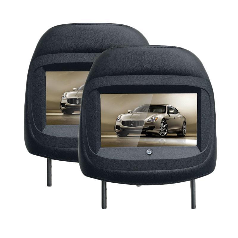 harga MOBILETECH MH-7022 New Headrest Monitor - Black Blibli.com