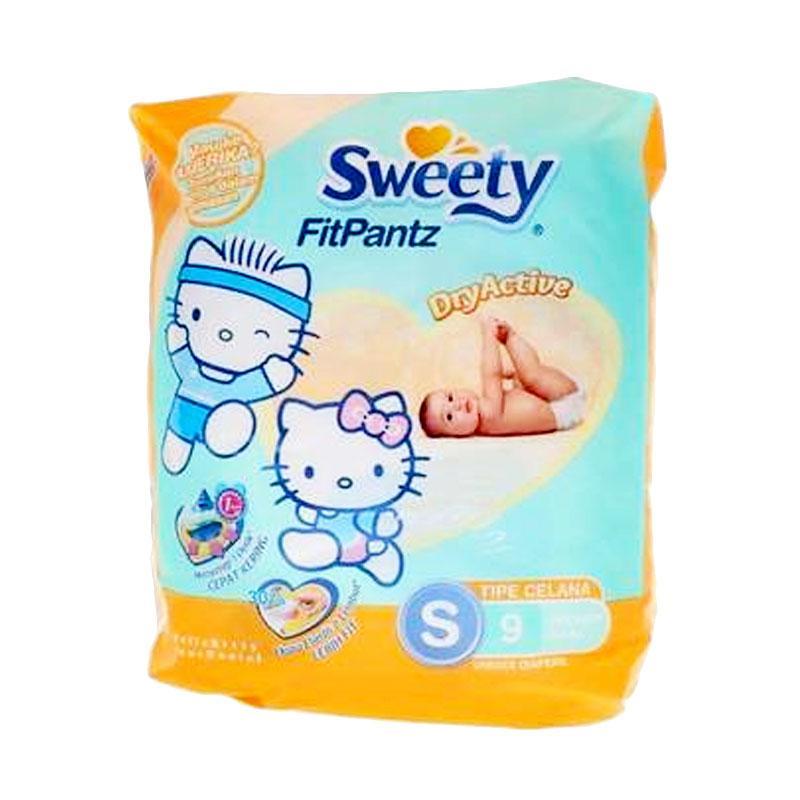 Sweety Fit Pantz Popok Bayi [Size S/ 9 pcs]