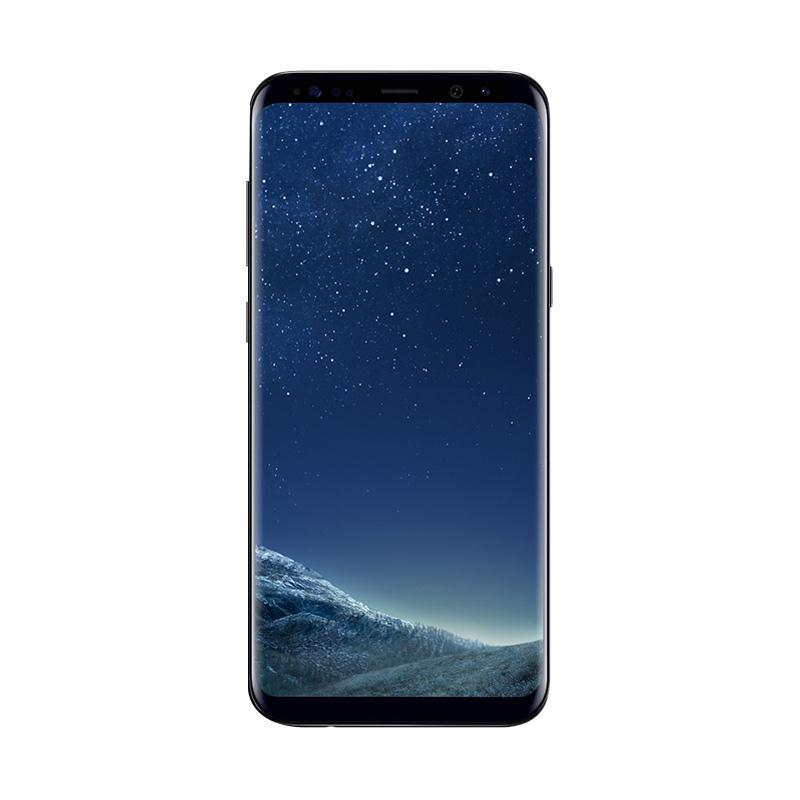 harga Samsung Galaxy S8 Smartphone BONUS POWERBANK MINI 6600mAh- Midnight Black [64GB/4GB] Blibli.com