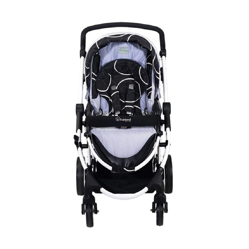 Fairland Stroller Focus 3 W 7450A Kereta Dorong Bayi - Dark Grey
