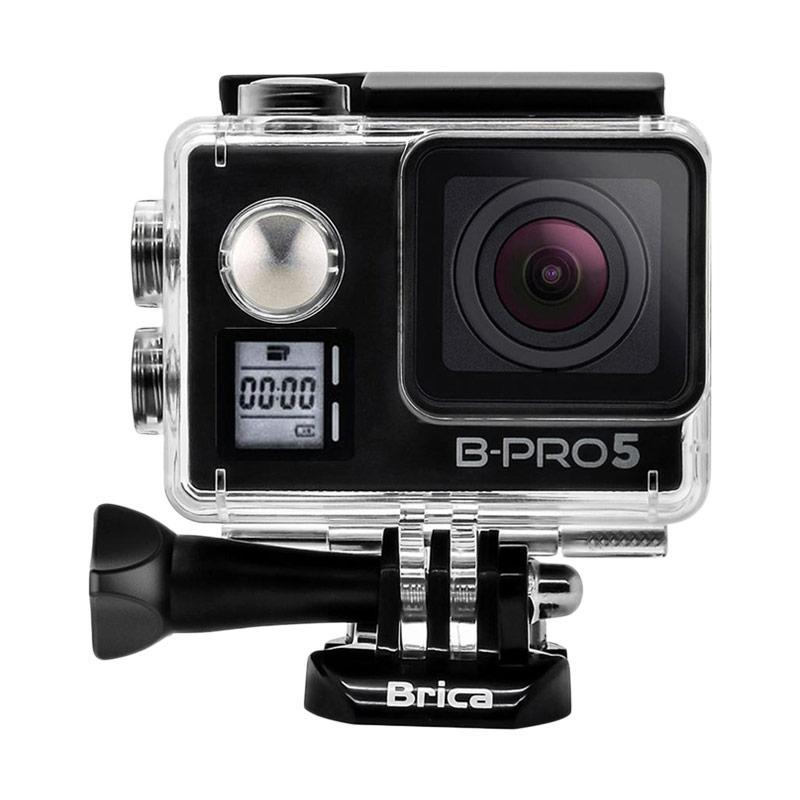BRICA B-PRO 5 Alpha Edition Mark IIs (AE2s) Combo 3 Way Supreme Action Cam - Hitam