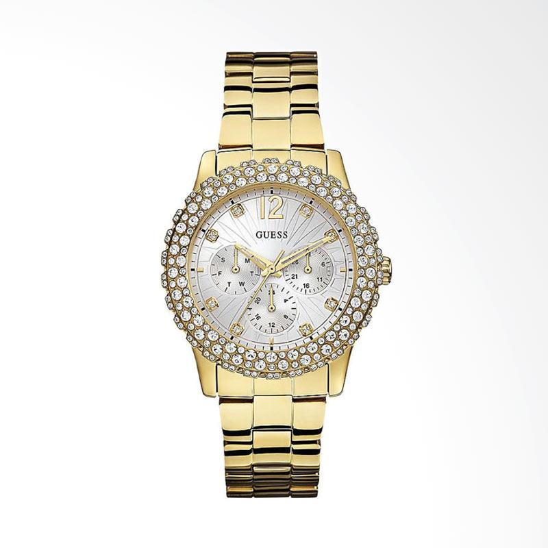 GUESS W0335L2 Jam Tangan Wanita - Gold