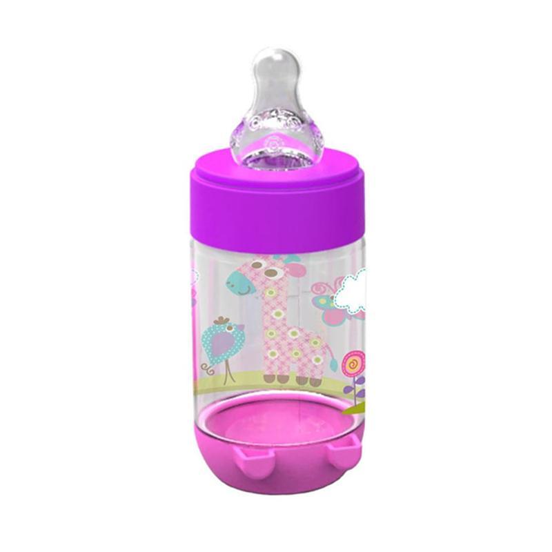 Rp 55,000. Rp 50,500 ( 8 %). Stok Terbatas. Deskripsi. Baby Safe Feeding Bottle / Botol Susu 125 ml Motif Jerapah AP001 - Ungu