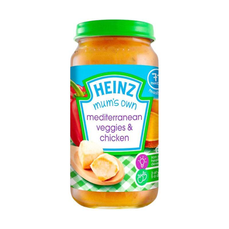 Heinz Mum's Own Mediterranean Veggies & Chicken Makanan Bayi [200 g]
