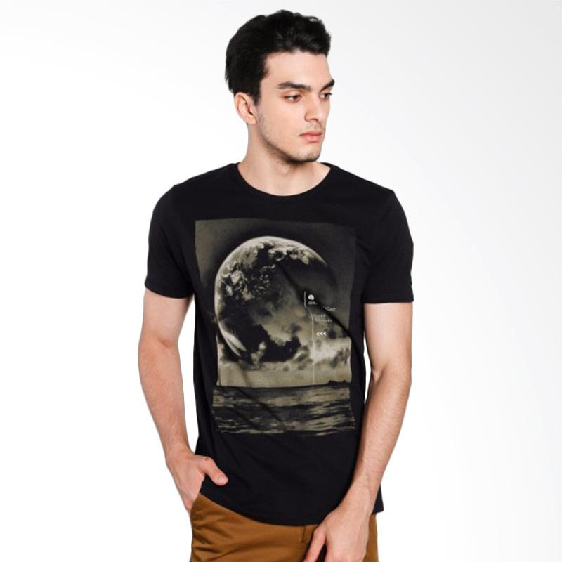 Greenlight Men 5512 T-Shirt Pria - Black