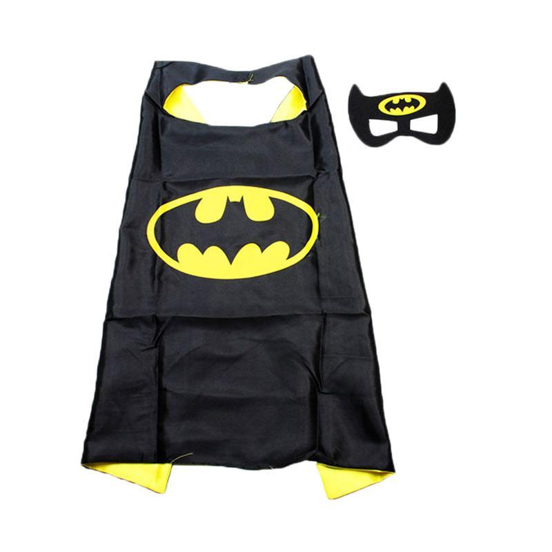 TMO Jubah Batman Setelan Kostum Anak - Dark Jade