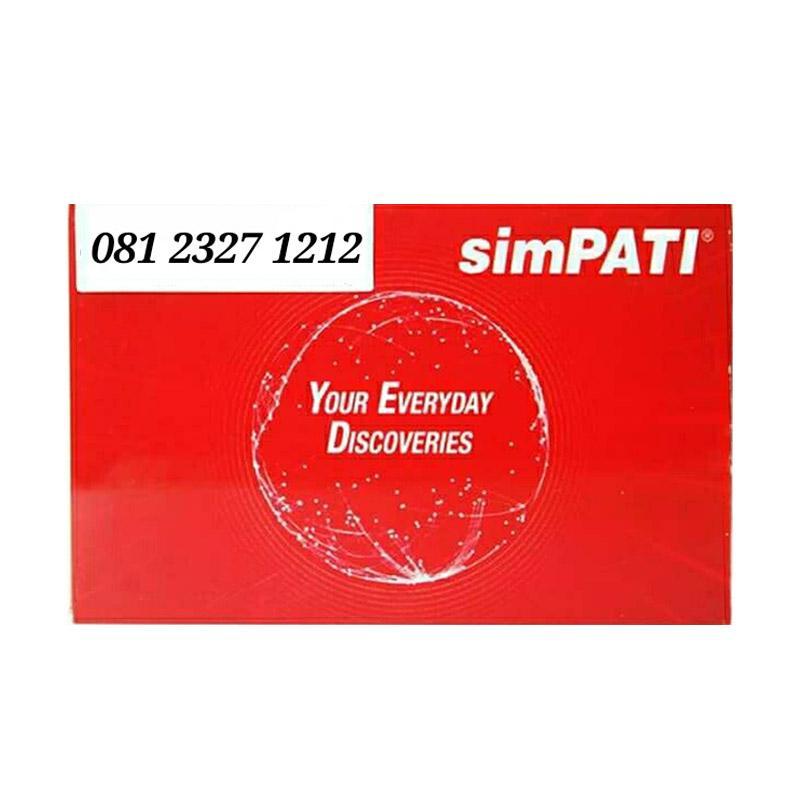 Telkomsel Simpati Nomor Cantik 081 2327 1212 Kartu Perdana [11 Digit]