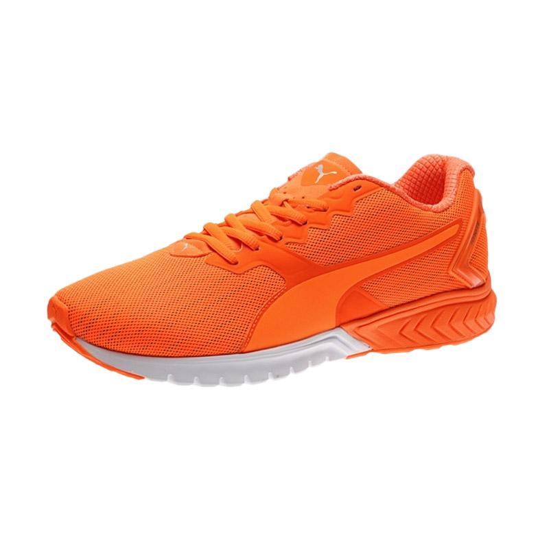 PUMA Ignite Dual Nightcat Shocking Orange Sepatu Lari Pria - Orange [188354 02]