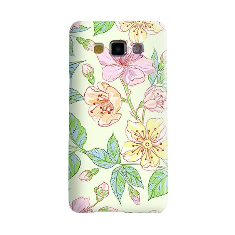 Premiumcaseid Beautiful Flower Wallpaper Cover Hardcase Casing for Samsung Galaxy A5