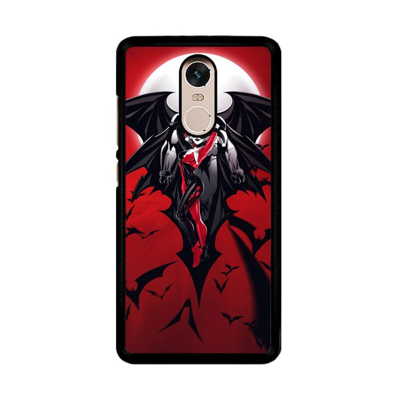 Flazzstore Batman Harley Quinn Z0068 Custom Casing for Xiaomi Redmi Note 4 or Note 4X Snapdragon Mediatek