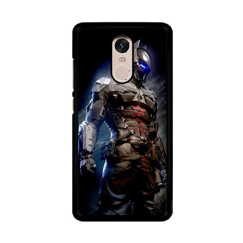 Flazzstore New Batman Arkham Knight Z0287 Custom Casing for Xiaomi Redmi Note 4 Note 4X Snapdragon Mediatek