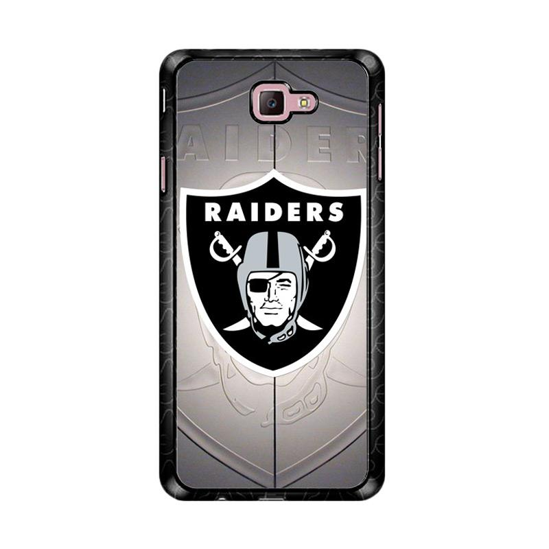 Flazzstore Oakland Raiders Z3261 Custom Casing for Samsung Galaxy J7 Prime