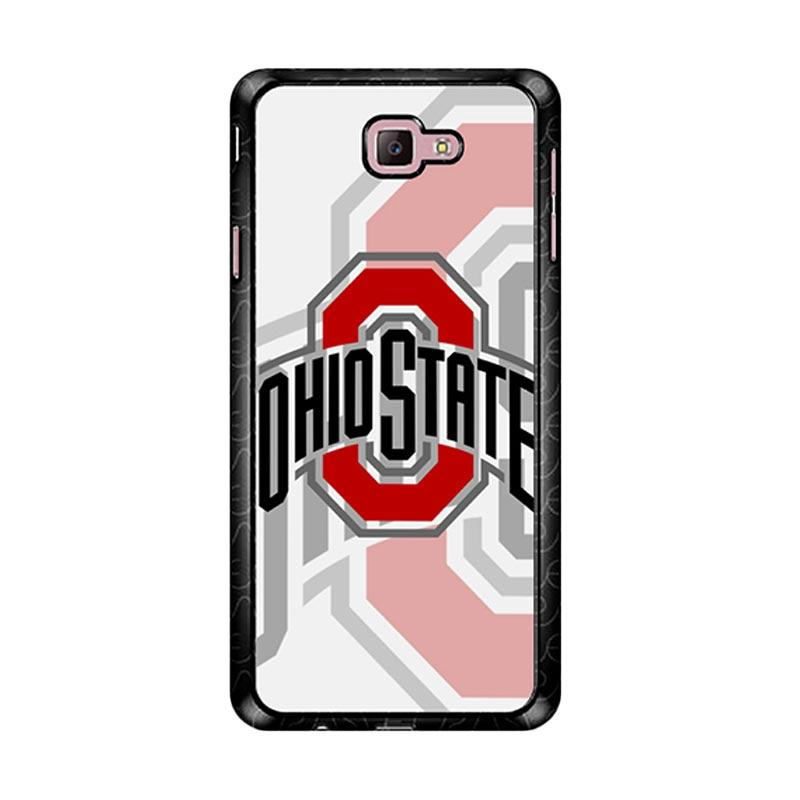 Flazzstore Ohio State Buckeyes Z4057 Custom Casing for Samsung Galaxy J7 Prime