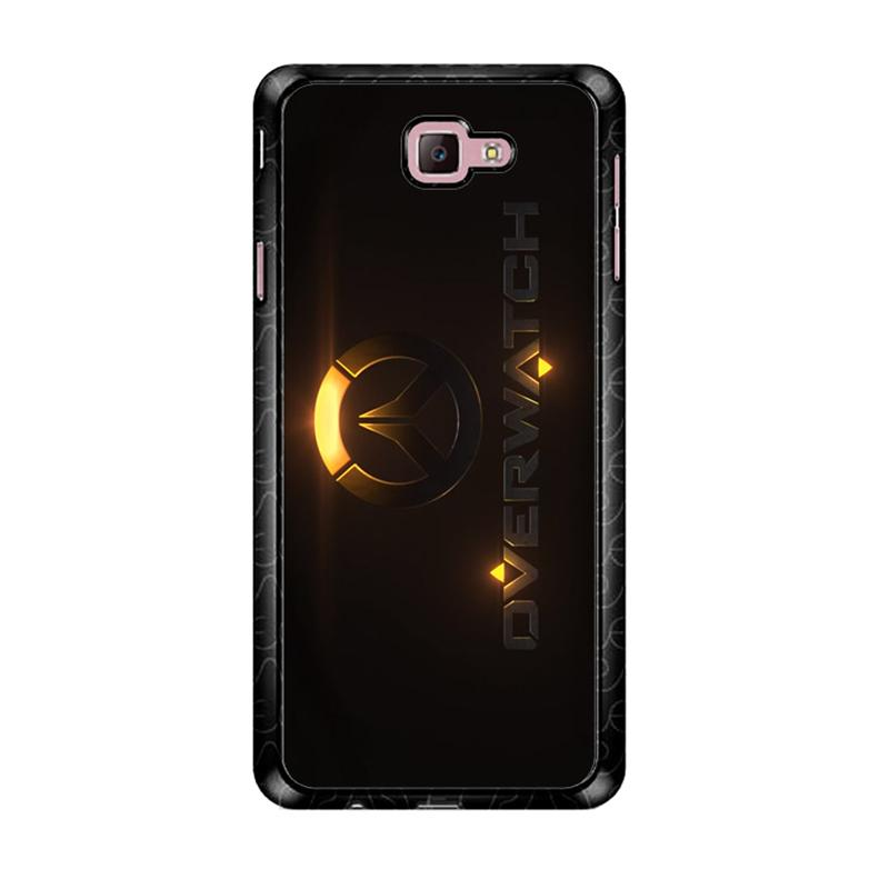 Flazzstore Overwatch Logo Z4295 Custom Casing for Samsung Galaxy J7 Prime