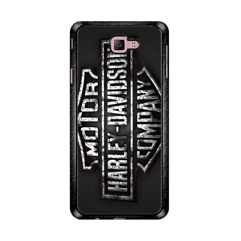 Flazzstore Harley Davidson Metal Logo Z4752 Custom Casing for Samsung Galaxy J7 Prime