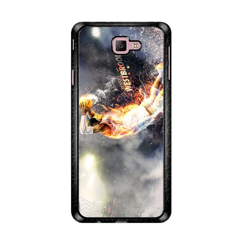 Flazzstore Russell Westbrook Z4766 Custom Casing for Samsung Galaxy J7 Prime