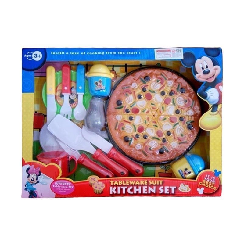 OEM Kitchen Set Pizza Mainan Anak