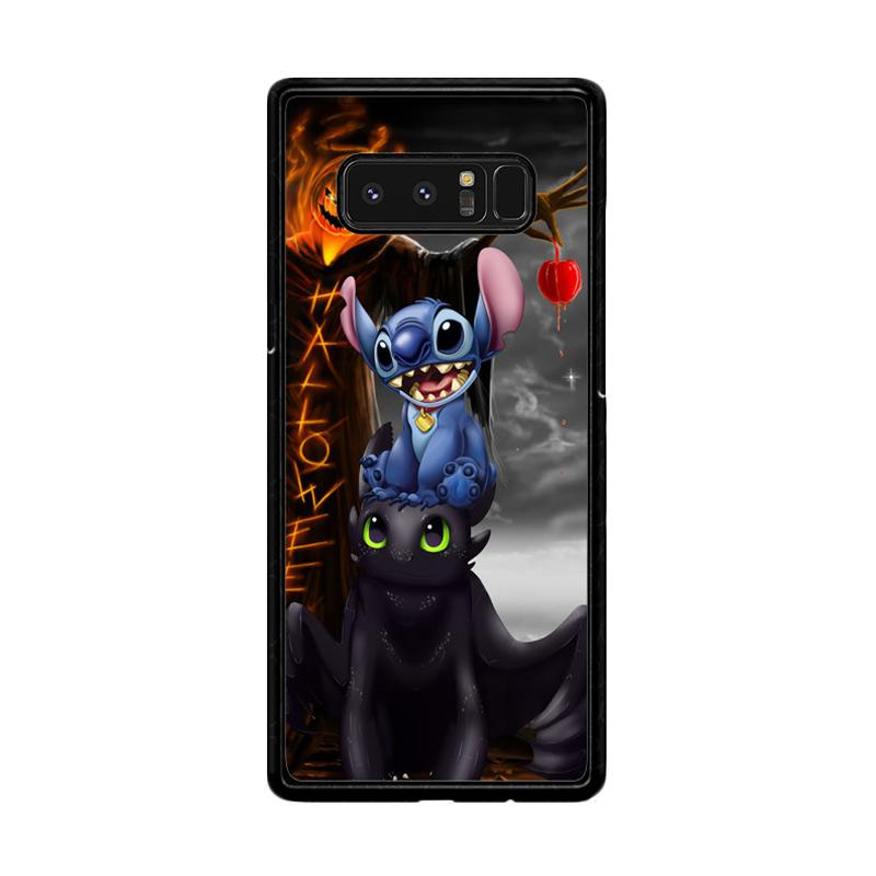 Flazzstore Stitch Toothless Dragon Z2587Custom Casing for Samsung Galaxy Note 8