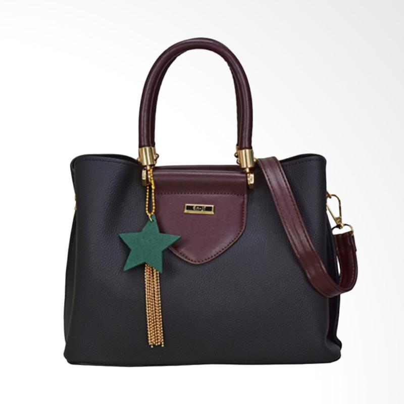 En-ji By Palomino Venus Handbag - Black