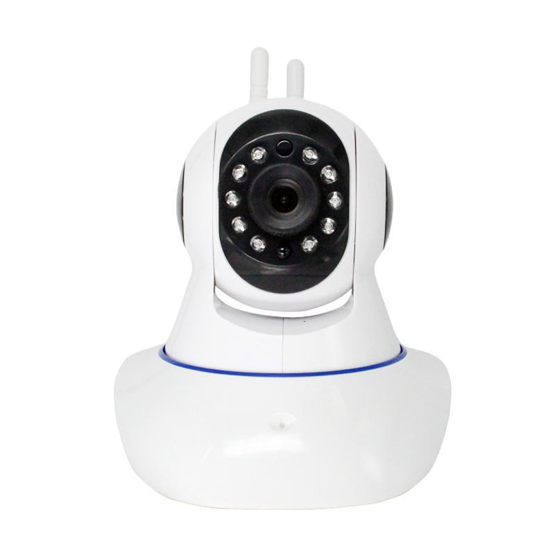 harga SUCOM New Rotating Ip Camera Kamera CCTV/ Baby Cam/ Spy Cam Blibli.com