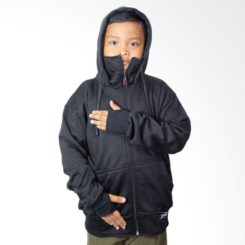harga Refill Stuff Ninja Jaket Hoodie Anak - Black Blibli.com