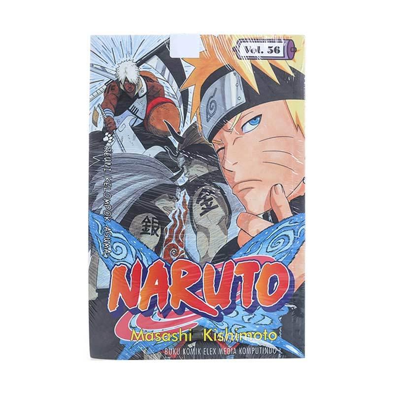 Elex Media Komputindo Naruto 56 201791855 by Masashi Kishimoto Buku Komik