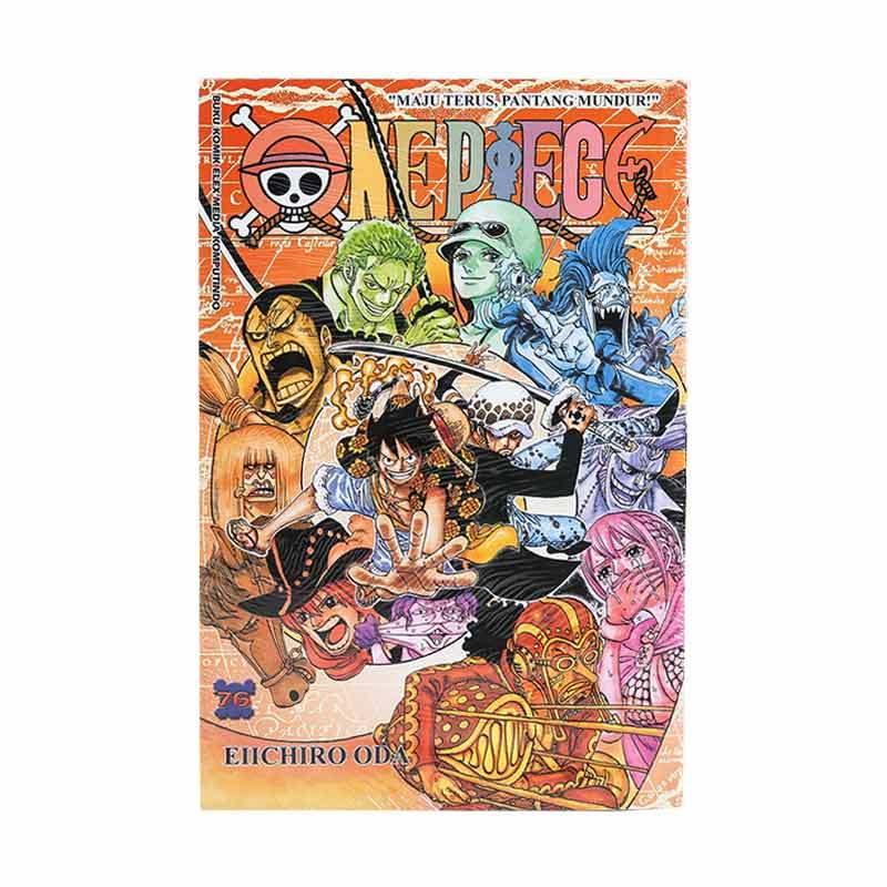 Elex Media Komputindo One Piece 76 716010358 by Eiichiro Oda Buku Komik