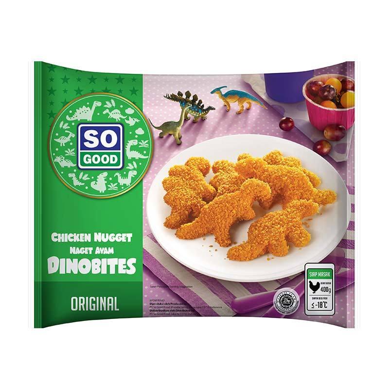 So Good Dinobites Makanan instan [Original/ 400 Gr]