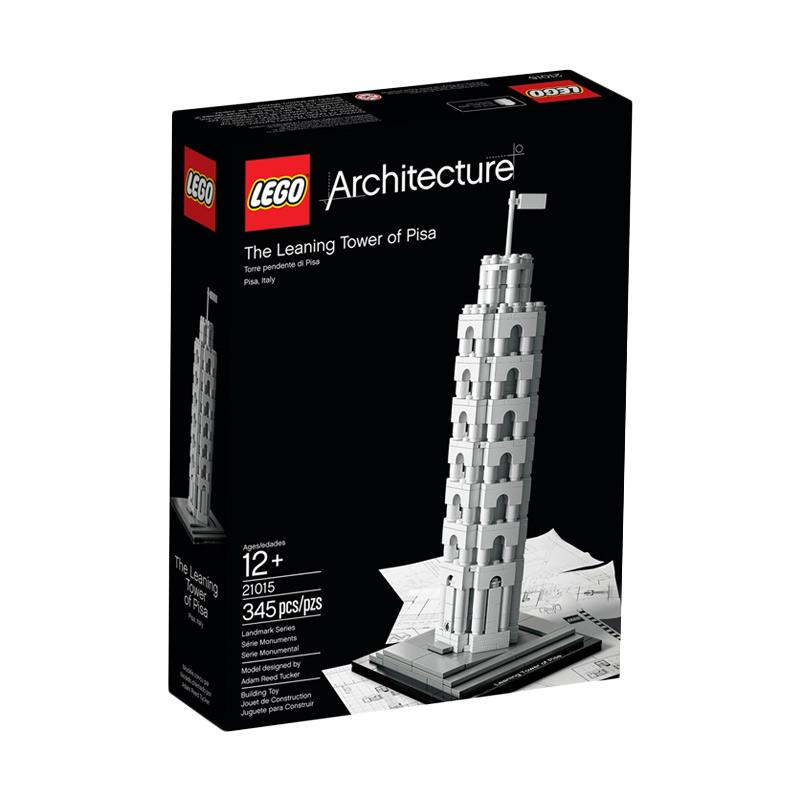 harga LEGO 21015 Architecture The Leaning Tower Of Pisa Blocks & Stacking Toys Blibli.com