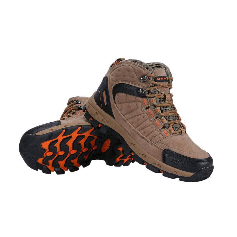 Snta Hiking Sepatu Gunung Pria - Beige [483]