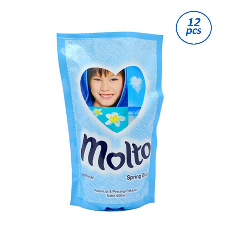 MOLTO Softener Spring Blue Pouch [900 mL/12 pcs] 62040239