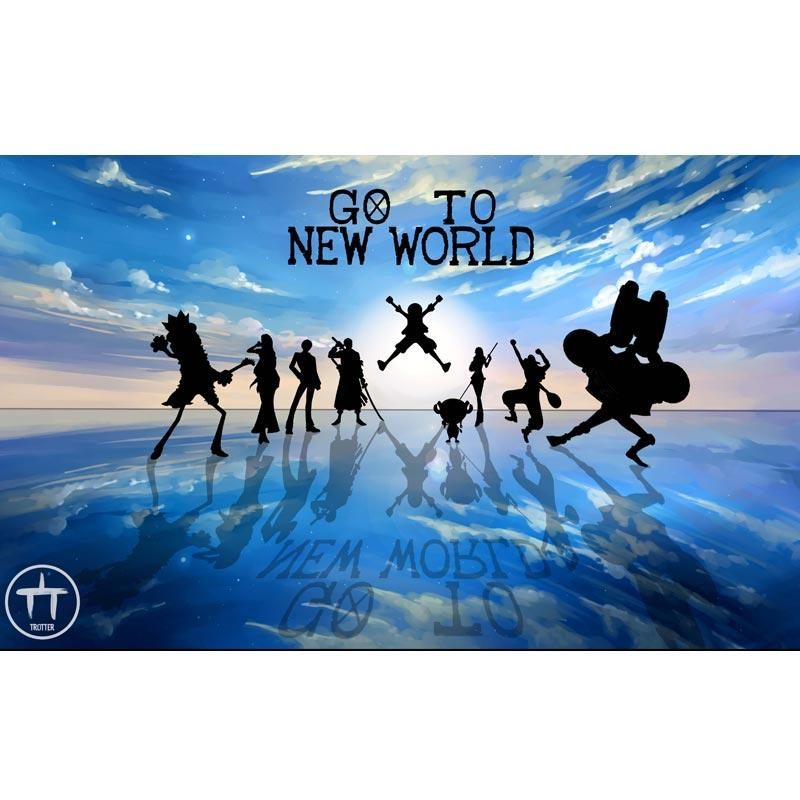Jual Wingman One Piece 5000x3000 Go To New World Hd 4k 2592 Walpaper 3d Dekorasi Dinding Online Oktober 2020 Blibli Com