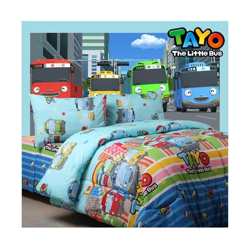 Jual Sierra Tayo Little Bus Set Sprei Online November 2020 Blibli Com