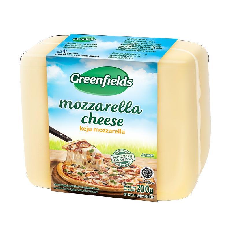 Greenfields Mozarella Block 200 g