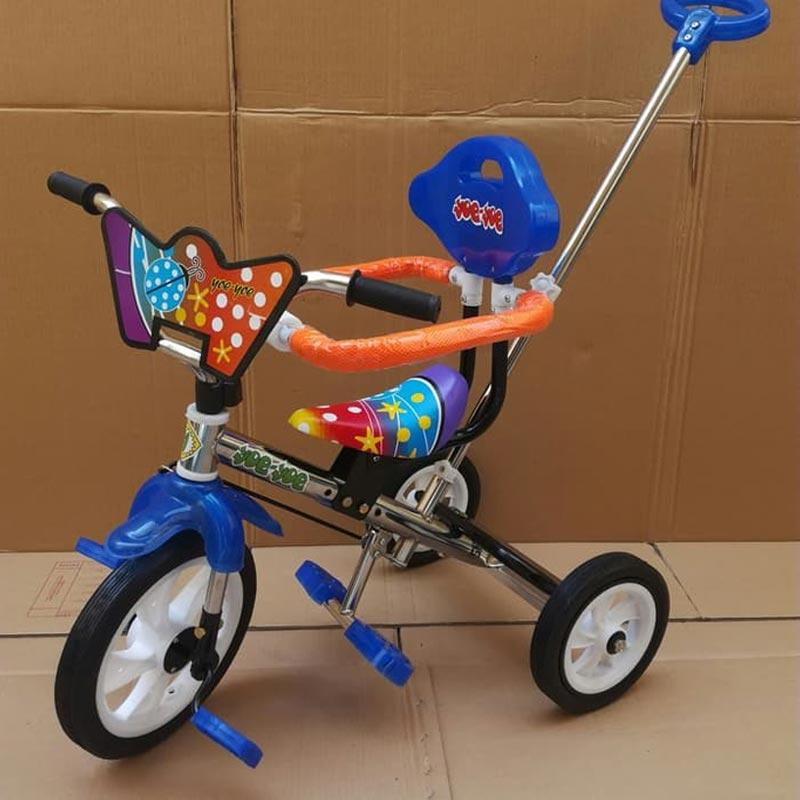 yoe yoe Tricycle Pengaman Stick Roda Tiga Sepeda BMX
