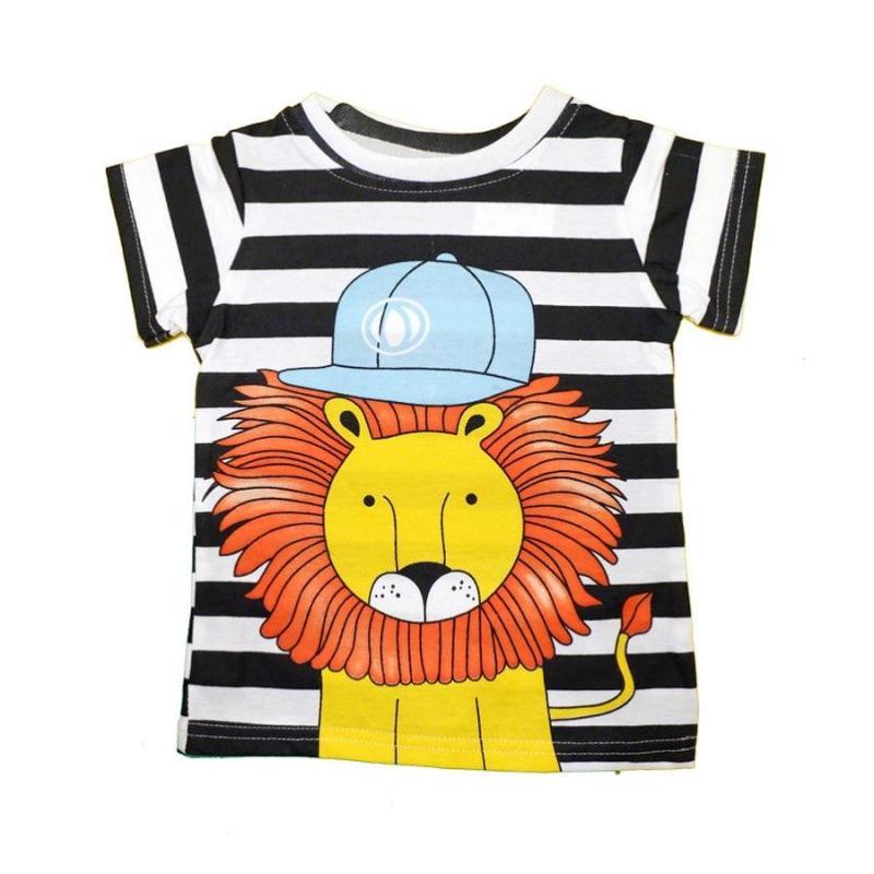 Joyful. Lion Hat Baju Atasan Anak Laki-Laki