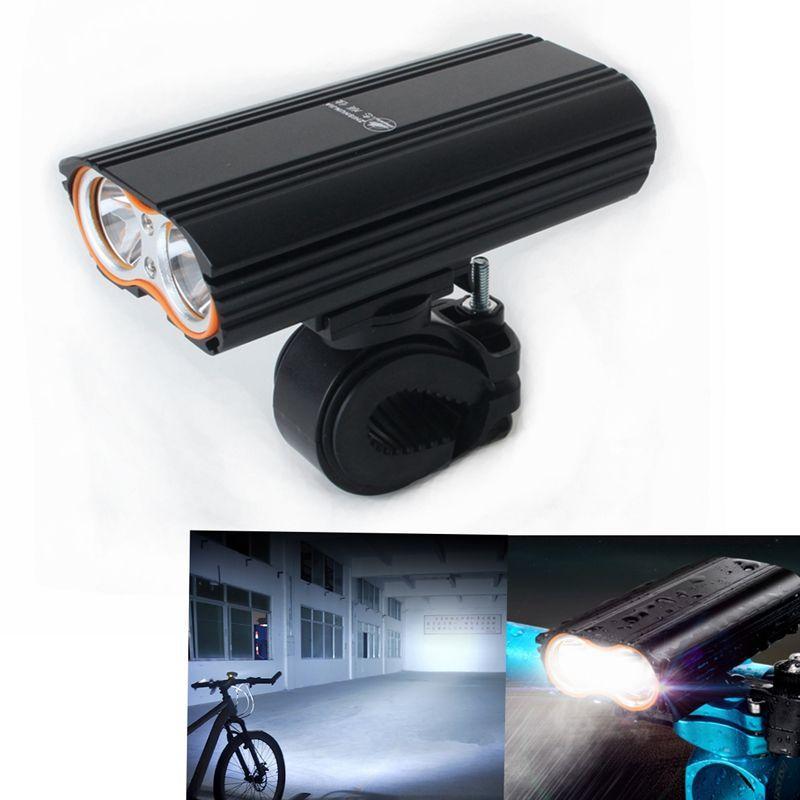 COB LED Bicycle Bike Cycling Front Light Headlight Head Lamp 400 Lumen 3 Modes