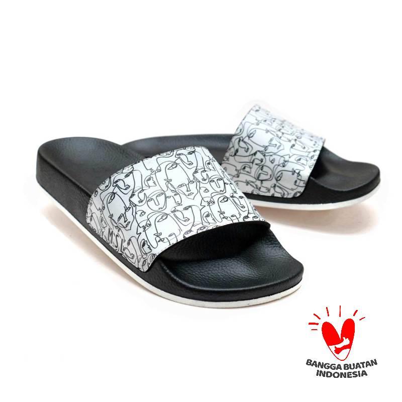 Monsseli 01 MSL La Facia Series Sandal Wanita