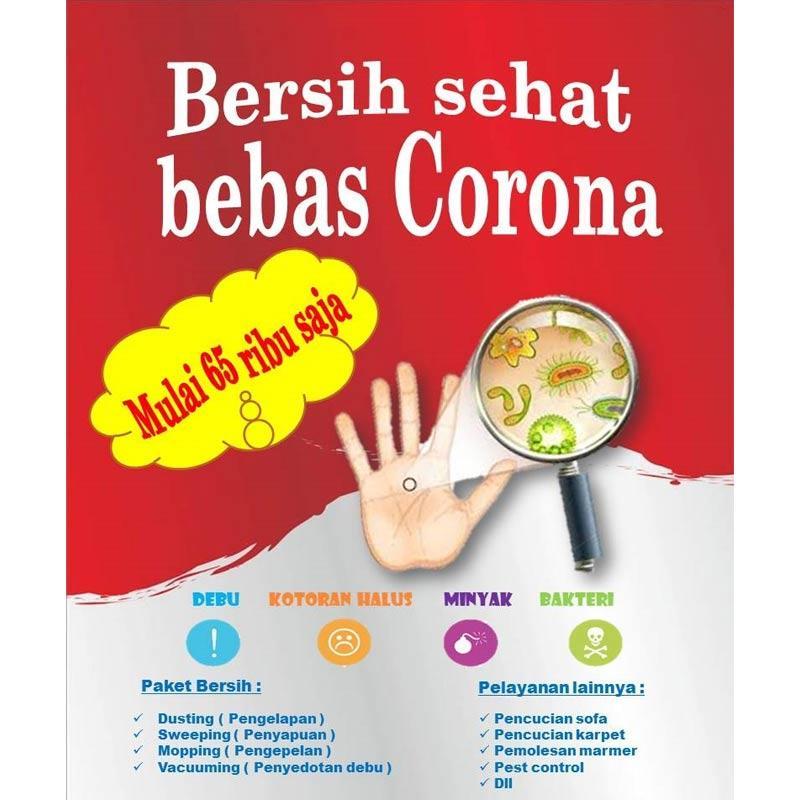 Bersih com Paket Daily Cleaning 1 Jam