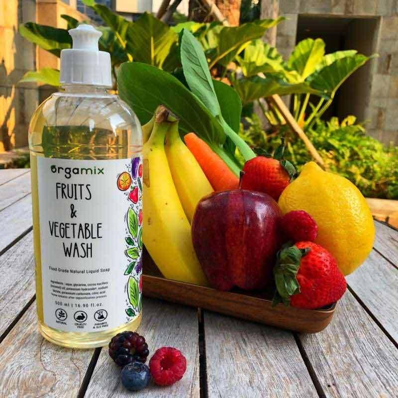 Orgamix Fruit and Vegetable Wash