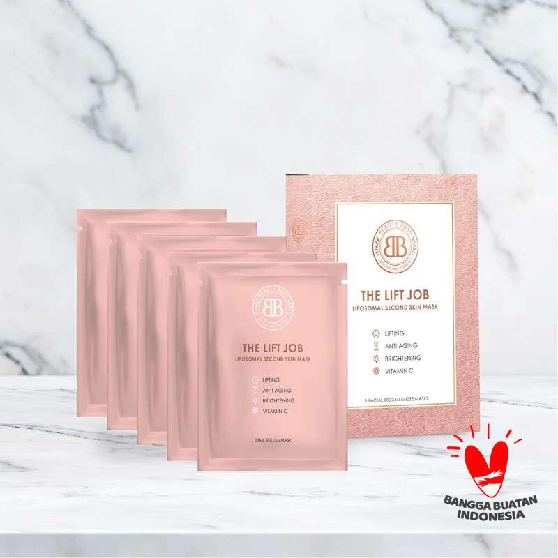 Beauty Boss x Heny Harun The Lift Job Sheet Mask set of 5