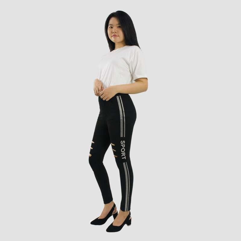 Jual Miracle Shop Celana Panjang Leva Celana Legging Sport Wanita All Size Online Oktober 2020 Blibli Com