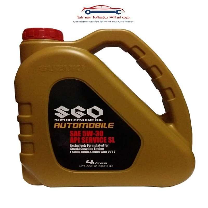 Jual Suzuki Genuine Oil Sgo 5w 30 Synthetic 4 Liter Pelumas Oli Mesin Mobil Bensin Suzuki Apv Ertiga Karimun Wagon Baleno Online Februari 2021 Blibli