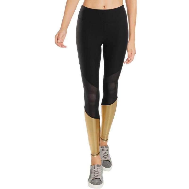 Jual Bebe Sport Women S Metallic Running Athletic Leggings 09bbl005 Celana Olahraga Wanita Online September 2020 Blibli Com